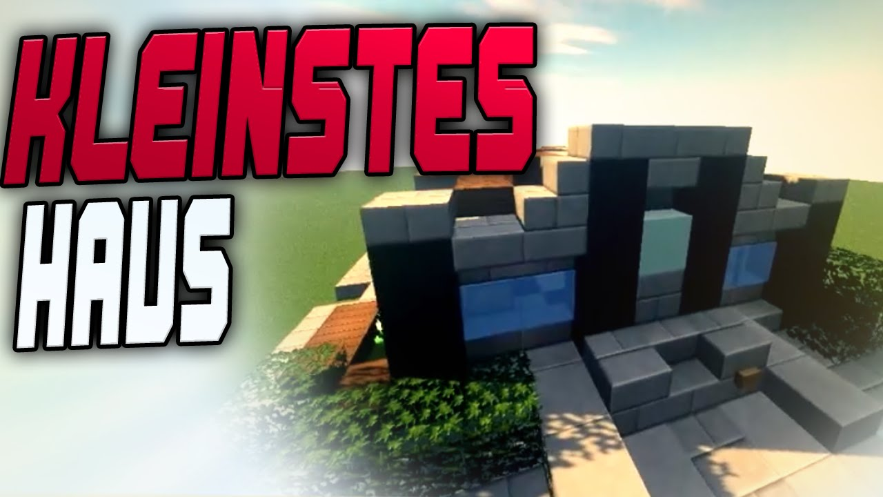 Kleinstes redstone haus youtube for Craftingpat modernes redstone haus