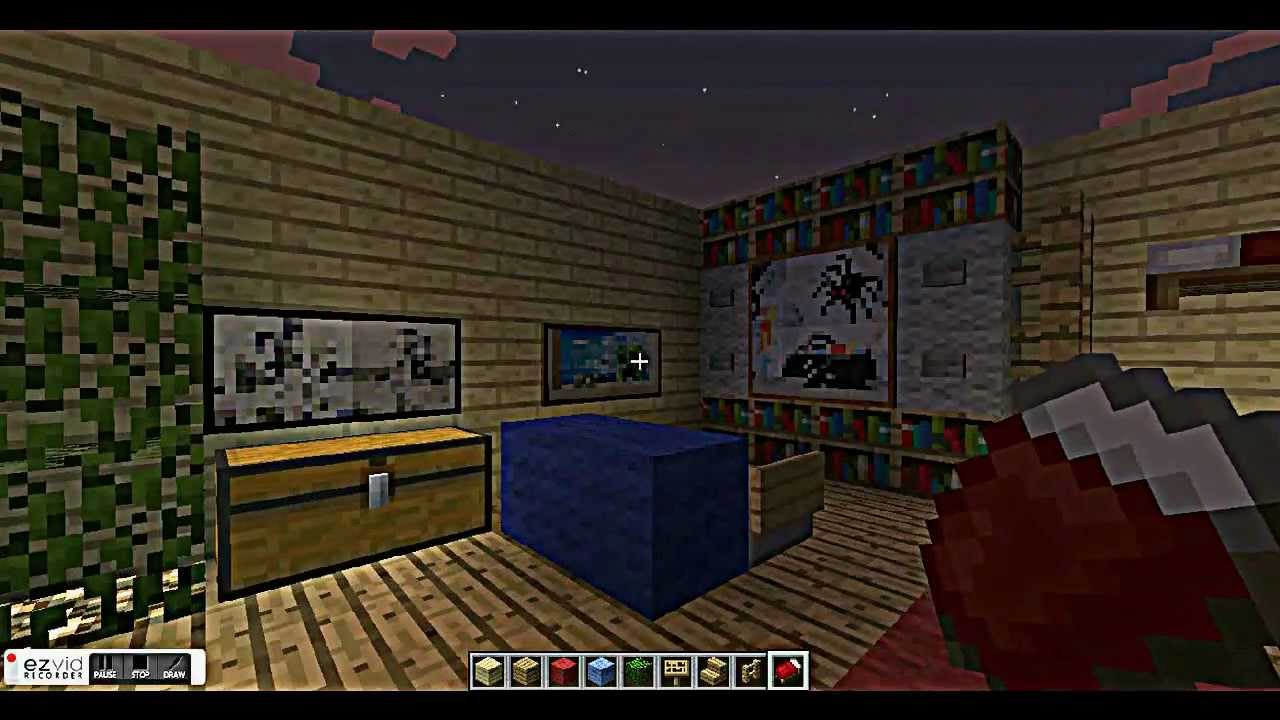 Cool Bedroom Designs Minecraft cool bedroom designs for minecraft - youtube