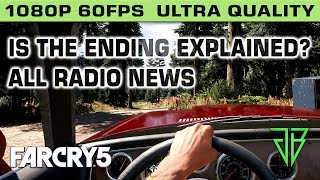 FAR CRY 5 ENDING EXPLAINED? - All Radio News Announcements About Nuclear War