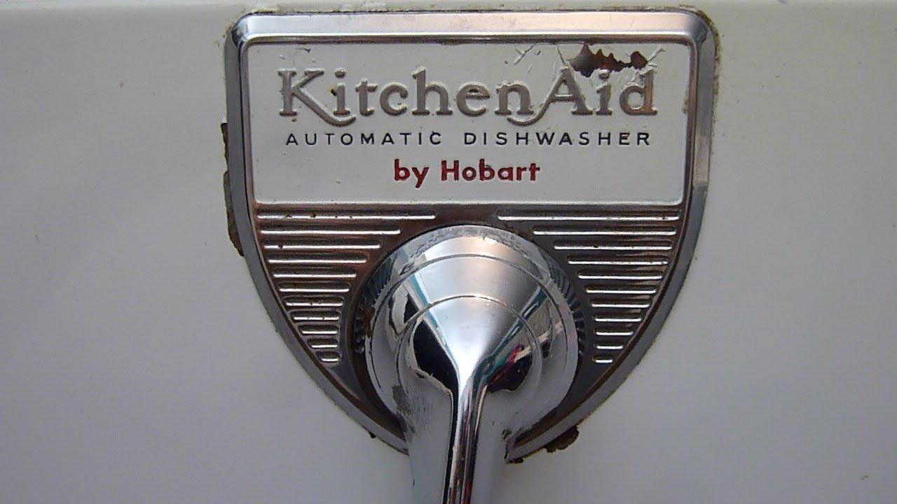 Kitchen Aid Dishwashers Cabinet Design Template 1959 Kitchenaid Kd 12 Dishwasher Tour Operation Youtube