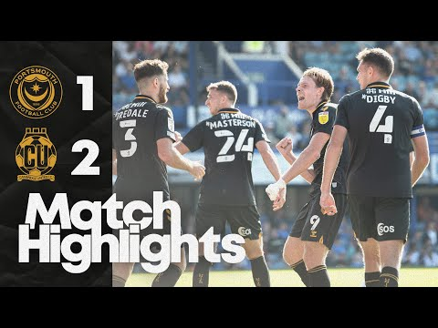 Portsmouth Cambridge Utd Goals And Highlights