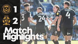Портсмут  1-2  Кембридж Юнайтед видео