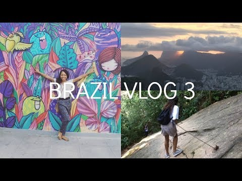 Brazil Travel Vlog 3 | IVHQ | Tijuca National Park | Bloco's | Two Brothers Mountain