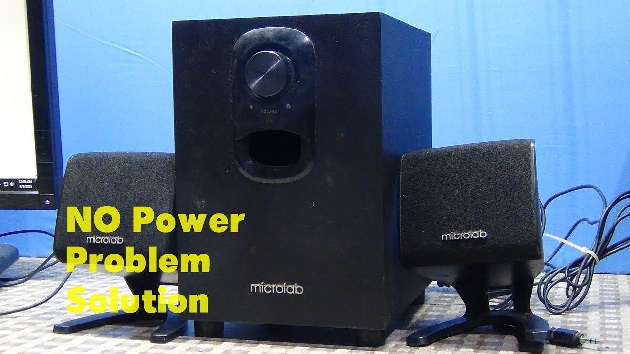 hight resolution of microlab m 108 speaker repair