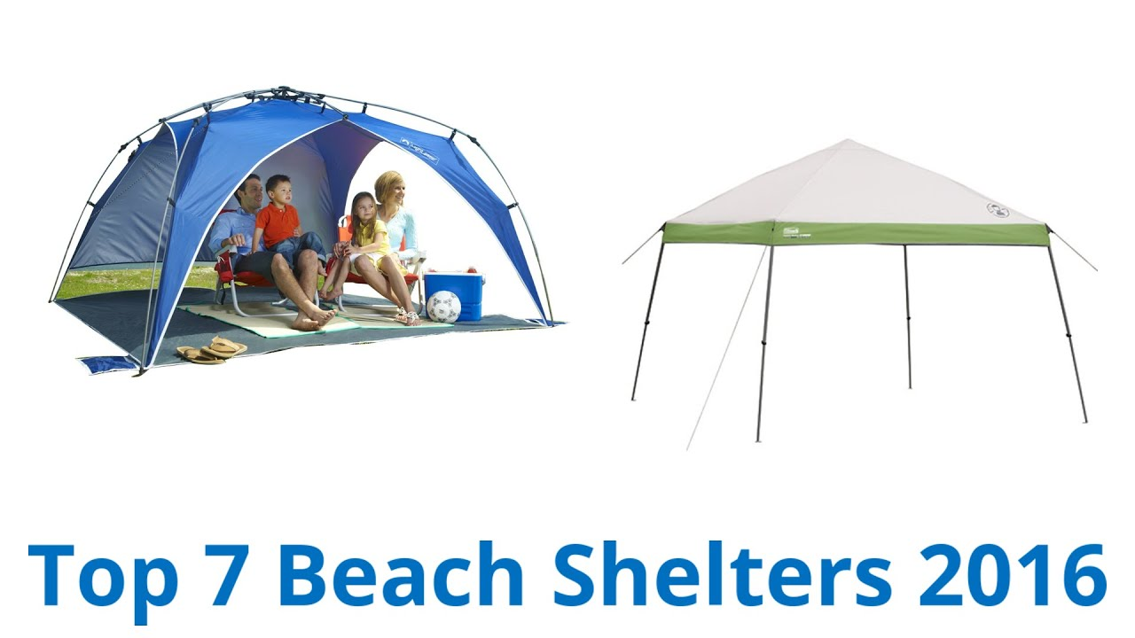 7 best beach shelters 2016