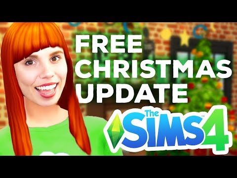 *NEW* Free Christmas Items in The Sims 4 thumbnail