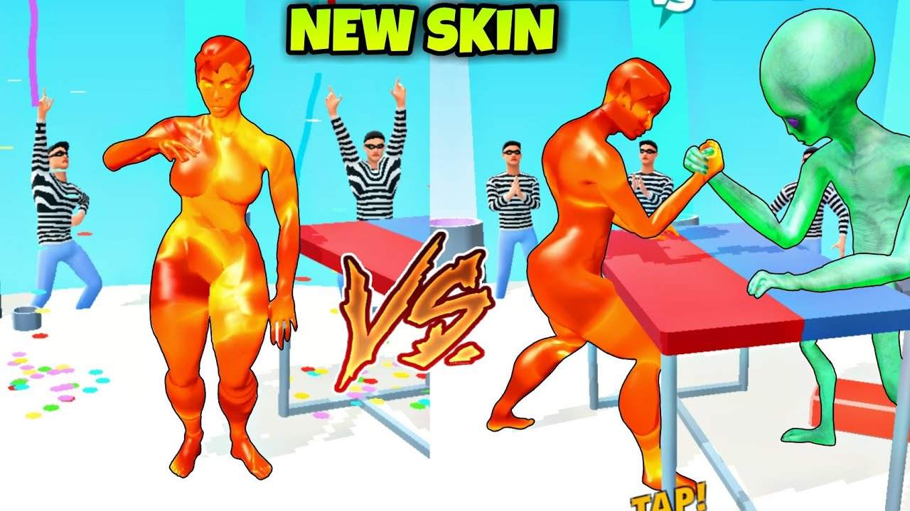 New Lava Skin Unlocked In Muscle Rush / Muscle rush