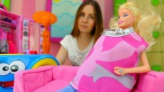 Видео для девочек: Барби на фотосессии. Игры в куклы Барби