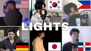 Gambar cover Who Sang It Better : BTS (방탄소년단) - Lights (us,japan,germany,philippines )