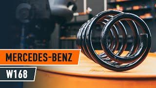 Как се сменят Спирачен барабан на MERCEDES-BENZ A-CLASS (W168) - онлайн безплатно видео