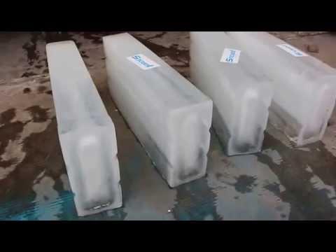 100kg ice blocks
