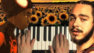 Baixar Post Malone - Sunflower (Piano Tutorial Lesson)