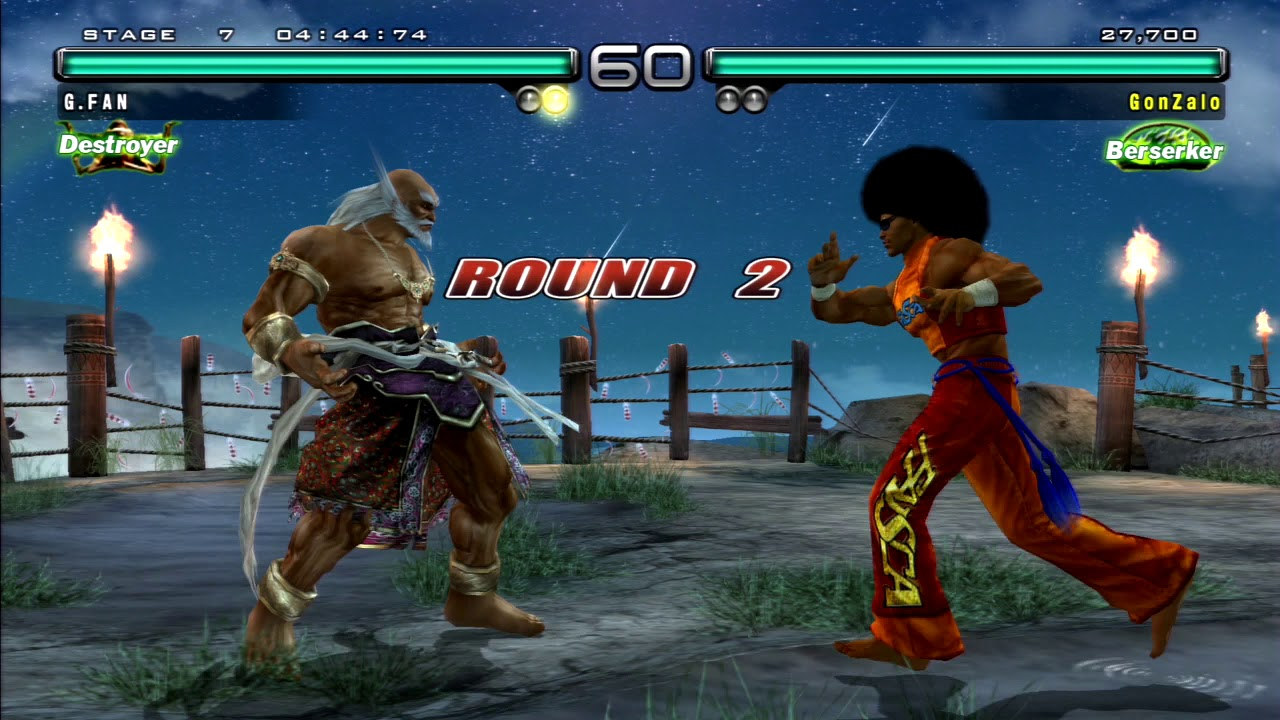 Tekken 5 Dark Resurrection Ps3 Ghost Battle Jinpachi Part17 By Games Fan