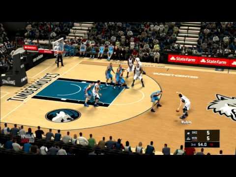 NBA 2K16 Oklahoma City Thunder vs Minnesota Timberwolves PS3 HD