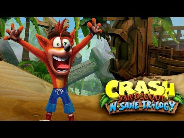 Crash Bandicoot N. Sane Trilogy Gameplay - XFX R9 280X / i5 2500k 3.3Ghz / 8GB