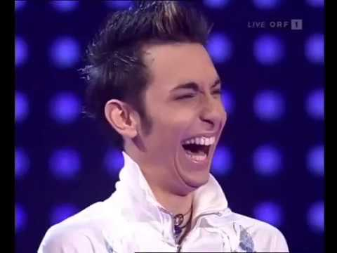 Tom Neuwirth (Conchita Wurst) - Interview and jury evaluation - starmania - 19/01/2007  part 1