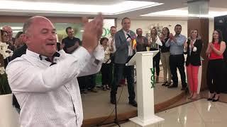 Intervención de Francisco Ocaña en el mitin de Vox Baza de las Elecciones 2019.