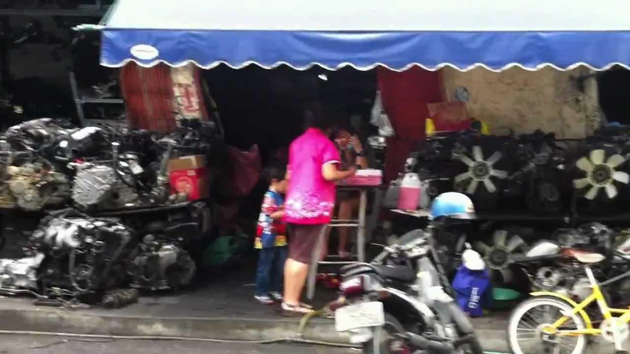 Car Parts Market Bangkok