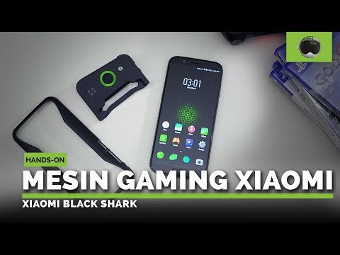 MESIN GAMING XIAOMI | Hands-on Xiaomi Black Shark