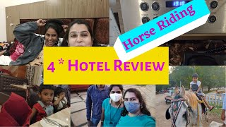 க ட ட ய ப த த ம ப க கலய 4 Star Hotel review in tamil Charlie Chaplin sister Horse Riding