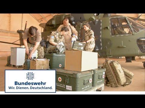 NH-90 der Bundeswehr im MedEvac-Einsatz in Mali: Die Rettungskette