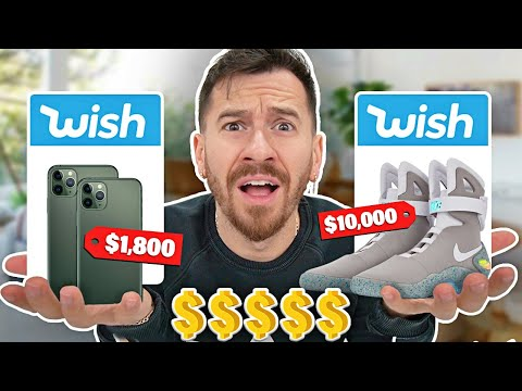 I Bought The MOST EXPENSIVE Items On Wish!!