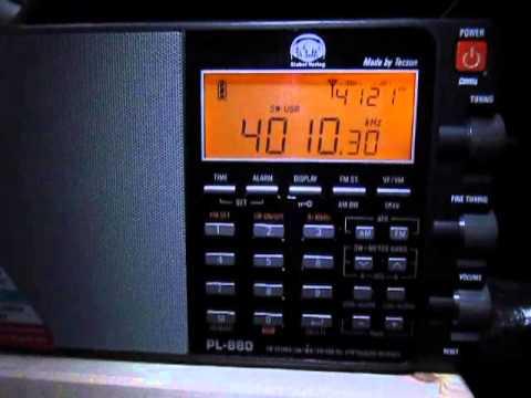 Tecsun PL-880 vs PL-660 on 4010 Khz Birinchi Radio, Kyrgyzstan