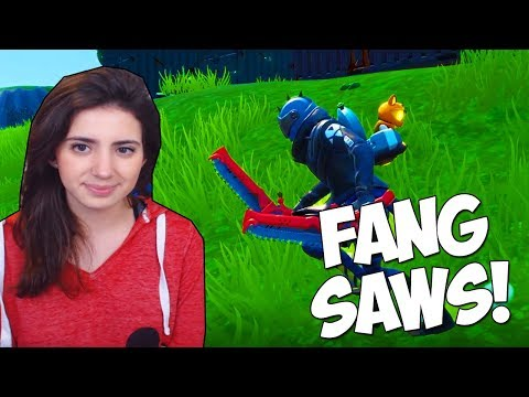 The NEW X-LORD PICKAXE In Fortnite (Fang Saws Gameplay)