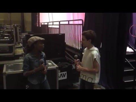 Lip Sync Battle Behind The Scenes - Skai Jackson And JJ Totah