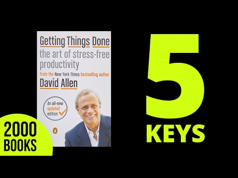 Getting Things Done Summary David Allen Get Book Summary Pdf In Link Below