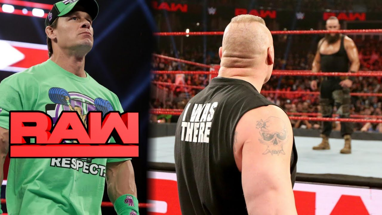 WWE RAW Highlights, 7th January 2019, John Cena Returns, Braun Vs Brock,Seth Rollins Vs Dean Ambrose