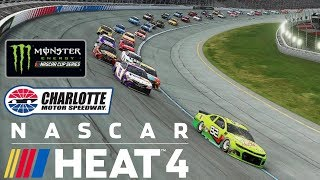 CHARLOTTE   NASCAR Heat 4   Championship Season   Monster Energy NASCAR Cup Series   Race 13