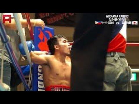 Richard Pumicpic W12 Hisashi Amagasa WBO Asia Pacific Featherweight Title