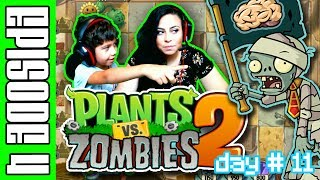 Plants Vs Zombies 2 - Gamepaly Walk Through - EPISODE 4 (PVZ2 : ITS ABOUT TIME)
