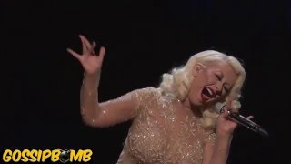 Christina Aguilera & Whitney Houston Hologram Duet - I Have Nothing & I'm Every Woman