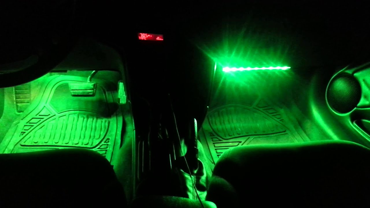 Great LedGlow Interior Lights Music Mode