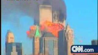 Flug in 2wtc tower 11.9.2001 NYC Original