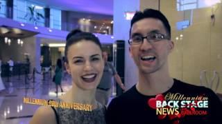 Victor Fung and Anastasia Muravyeva arrival to the Millennium 2017! Ballroom BackStage