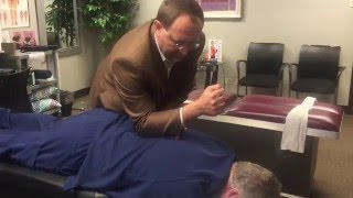 Houston Chiropractor Dr Gregory Johnson Gets Adjusted & Turbonated At Advanced Chiropractic Relief