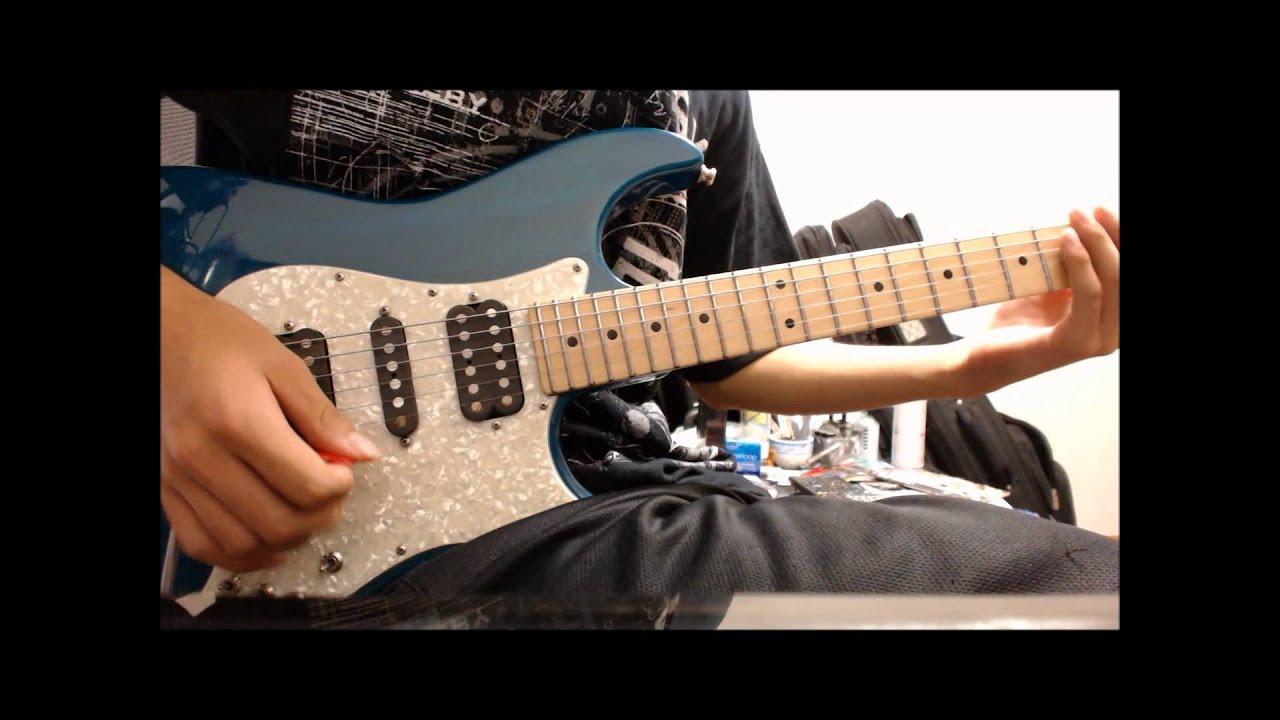 asking alexandria final episode guitar cover