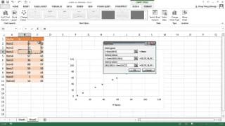 Create an X-Y Scatter Chart