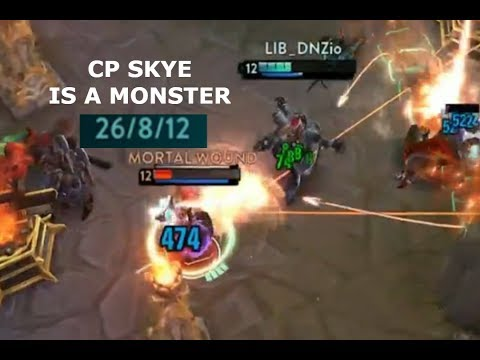 CP SKYE IS A MONSTER 26 KILL GAME! Vainglory 5v5