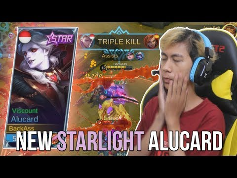 NEW STARLIGHT ALUCARD?! HAMPIR MANIAC WKWK!! - MOBILE LEGENDS INDONESIA