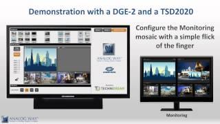 AW VideoCompositor - LiveCore tm منصة