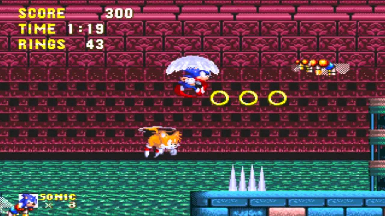 Sonic The Hedgehog 3 - Hydrocity Zone Act 1(SNES remix)