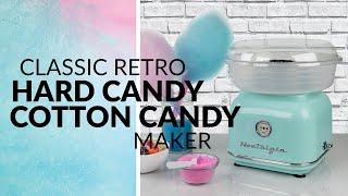 CLCM8AQ | Classic Retro Hard & Sugar-Free Candy Cotton Candy Maker