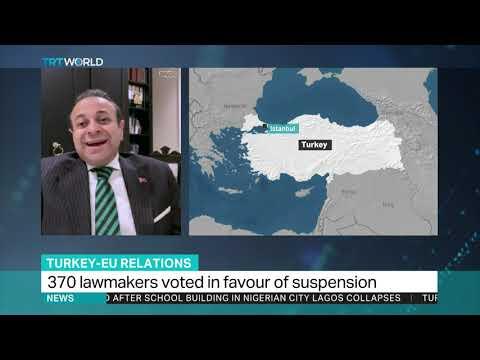 EU lawmakers vote to halt Turkey's accession Mp3