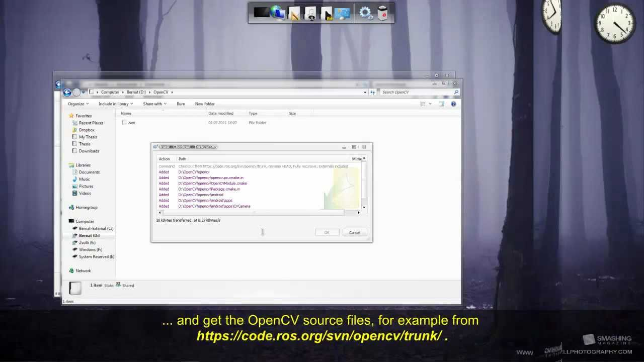 OpenCV: Installation in Windows