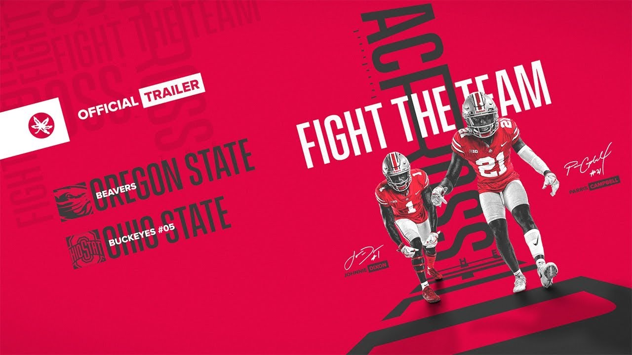 2018 ohio state football oregon state trailer youtube
