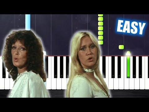 ABBA - Mamma Mia - EASY Piano Tutorial by...